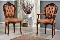 Scaun Venetiana cu brate este o piesa de mobilier gratioasa, in stil baroc, cu elemente decorative sculptate manual care aduce eleganta interioarelor noastre. Este lucrat manual, din lemn de fag. Tapiseria si culoarea lemnului, va invitam sa le personalizati in functie de ambientul  casei dumneavoastra. #scaun #scaune #chair #chairs #scauneclasice #scaunetaptate #scauneliving #scaunebucatarie Dining, Chair, Furniture, Home Decor, Food, Decoration Home, Room Decor, Home Furnishings, Stool