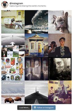 Display instagram photos on WordPress