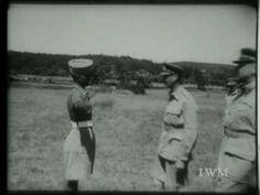 King George VI presenting Sepoy Kamal Ram gujjar with the VC.