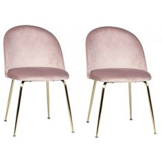 The Arreda Dining Chairs by Dovetail is part an eclectic range of handmade furniture, accessories and textiles. Features: Metal / Velvet - Pink Legs are Copper Brushed Dimensions: Length: Depth: 30 Dining Chair Set, Dining Room Chairs, Side Chairs, Modern Upholstery Fabric, Pink Velvet, Furniture Companies, Handmade Furniture, Living Room Modern, The Ordinary