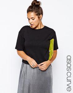 ASOS CURVE | Crop Boxy T-Shirt