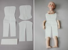 Авторские работы дизайнера Ирины Углинской: Переделка фарфоровой куклы с нуля. Часть третья, заключительная.