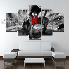 One Piece canvas painting wall decor. One Piece canvas prints are great for your room. Check on our online store the full One Piece canvas collection! Canvas Paper, Canvas Artwork, Canvas Prints, One Piece Merchandise, Anime Merchandise, Monkey D Luffy, Image Manga, Canvas Designs, One Piece Anime