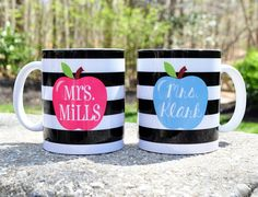 Adorable Personalized Teacher Mugs | Jane