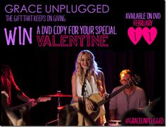 Grace unplugged dvd giveaway ends 2 17 inspirational movie