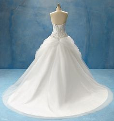 The Alfred Angelo Disney Fairytale Weddings Collection - Belle 1 (Back)