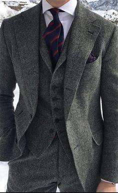 big sale 35c68 017d4 Image result for tweed bespoke suit Tweed Men, Grey Tweed Suit, Tweed Suits,