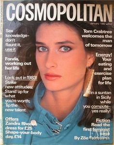 Rosemary McGrotha - Cosmopolitan UK January 1983