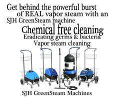 For a chemical free cleaning - use vapor steam