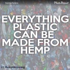 Plastic hemp
