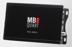 NA1-400.2 Nautic Amplifier | compact 2x200 watt