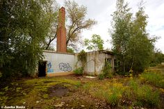 Fabrik (D) August 2014 abandoned factory in the former East Germany DDR urbex decay Photo by: Jascha Hoste
