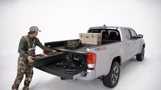 DECKED revolutionized Pickup Truck Bed Storage and Cargo Van Storage Systems with our low profile truck bed tool box system that is compatible with many fullsize pickups and vans. The ergonomic Toolbox slides out tools, gear, and other items in heavy duty drawers at waist height while still allowing the owner full use of their truck or van bed.
