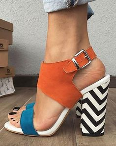 Shoes, Sandals, Heeled-Sandals $46.99 - Boutiquefeel Women's Shoes, Flat Shoes, Shoe Boots, Golf Shoes, Dress Shoes, Set Fashion, Look Fashion, Fashion Shoes, Womens Fashion