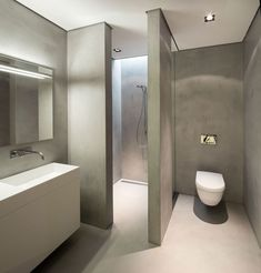 Unique Tadelakt Bathroom Design Ideas - Dead or Alive? Bathroom is presently a location for folks to unwind and unwind after a hectic days do the job. If your bathroom was remudeled in the past it can be difficult to… Continue Reading → Bathroom Toilets, Bathroom Renos, Bathroom Layout, Modern Bathroom Design, Bathroom Interior Design, Small Bathroom, Modern Toilet Design, Bathroom Ideas, Bad Inspiration