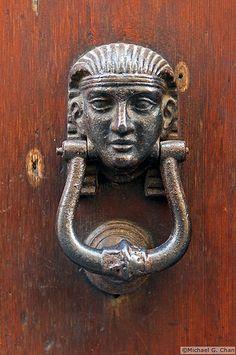 Door Knocker in Florence, Italy
