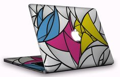 skin macbook stripes glaubenskins inner & outer by glaubenskins, $23.00