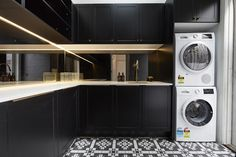 The Block series 13 hallway and laundry week room reveals! - The Interiors Addict