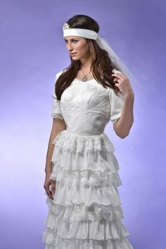 Something New - showcasing 2013 bridal trends, the bohemian look is perfect for the carefree and romantic bride!