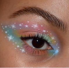 🪐 psyche's box 'space panda' hydra liner kush waterproof mascara brow wiz in… Artist Makeup, Eye Makeup Art, Makeup Inspo, Eyeshadow Makeup, Makeup Inspiration, Makeup Drawing, Tumblr Eye Makeup, Eyeshadow Palette, Bts Makeup