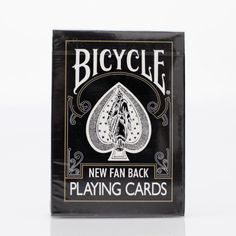 Gold Seal Black New Fan Back Bicycle Playing Cards Vintage Zenneth Kok for only $11.49 You save: $3.50 (23%)
