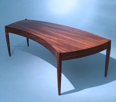 Coffee table  Rosewood  1960´s  Design by Johannes Andersen  Produced by Trensum, Sweden