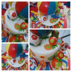 Torta Infantil super colorida #torta #cumpleaños #tortas #infantiles #eventos 0351 153412585