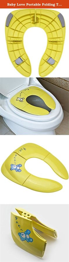 Baby Love Portable Folding Travel Potty Seat for Toddler Baby (Yellow). Make Potty Training Easier Potty training can be a daunting task for both parents and children. Once your child is ready to use the toilet, you do not want them put off by the size of the full-sized toilet. Toilets themselves are not designed to accommodate little ones, and little ones should not have to suffer because of it. That is where a potty seat can help you both out. The Baby Love potty seat, available in both...