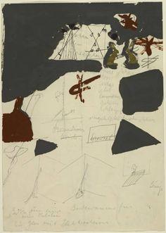 "thegameofart: ""Joseph Beuys 'Untitled', 1964 """
