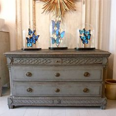 18TH CENTURY DANISH GUSTAVIAN CHEST in ANTIQUE FURNITURE from Georgia Lacey