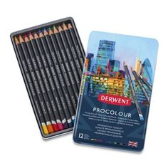 Art Alternatives 0700928 Derwent Inktense Pencils 12//Pkg