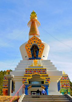 The Shambhala Mountain Center is the site of the Great Stupa of Dharmakaya, one of the best examples of sacred Buddhist architecture in the world.