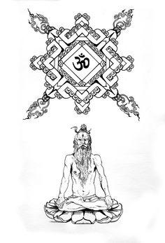 Kali - Hindu Goddesses Coloring Page | Pagan coloring ...
