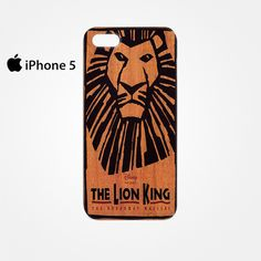 The Lion King Broadway Musical Brown for Iphone 4/4S Iphone 5/5S/5C Iphone 6/6S/6S Plus/6 Plus 3D Phone case