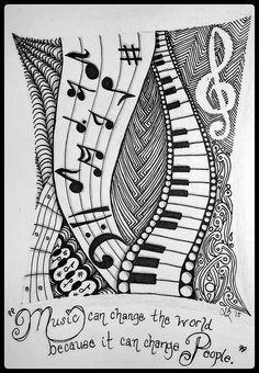 tattoo - mandala - art - design - line - henna - hand - back - sketch - doodle - girl - tat - tats - ink - inked - buddha - spirit - rose - symetric - etnic - inspired - design - sketch Doodle Art Drawing, Zentangle Drawings, Zentangle Patterns, Zentangles, Zantangle Art, Zen Art, Mandala Art Lesson, Mandala Artwork, Music Drawings