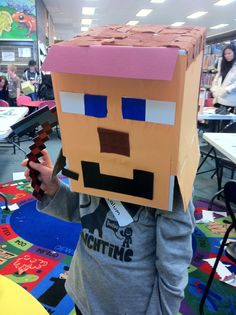 In July, we held a real-life version of Minecraft in Springwood Library! It was great, we will def do it again. #minecraft