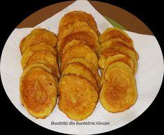 Gogosi din dovlecei - Bunătăți din bucătăria Gicuței Pancakes, Breakfast, Food, Morning Coffee, Essen, Pancake, Meals, Yemek, Eten