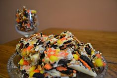 Fly the Coop Crafts: Halloween Bark