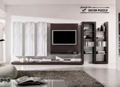 modern tv wall units wall mounted for living room decoration