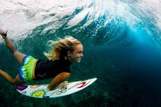 Bethany Hamilton stills surfs with a smile, despite losing one arm to a tiger shark
