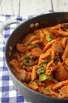 Spicy Sausage and Pasta Skillet   21 Delicious One-Pot Meals That Are Actually Affordable