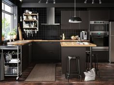 Kitchen Cabinet : 2019 Kitchen Trends We Can Not Get Enough Of. Kitchen Buffet, White Kitchen Cabinets, New Kitchen, Kitchen Decor, Kitchen Design, Kitchen Ideas, Kitchen Inspiration, Black Kitchens, Cool Kitchens