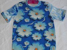 Mooi  blauw zomers bloemenjurkje door creanietje op Etsy