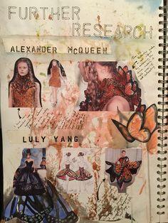 Research into Alexander McQueen. Lydia.