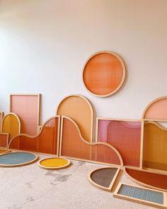 Decoration Inspiration, Color Inspiration, Room Decor, Wall Decor, Diy Wall, Wall Art, The Design Files, Art Object, Glass Art