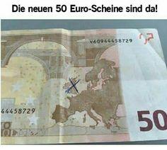 """Die neuen 50€ Scheine jetzt auch """"ohne"""" England"""