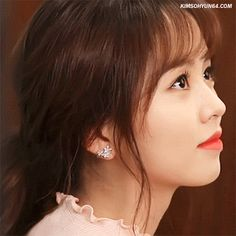 Cheesy Smile, Smile Gif, Kim Sohyun, Wattpad, Fire Heart, Korean Actresses, Sabrina Carpenter, Girl Gifs, True Beauty