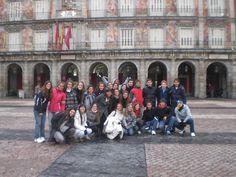 Plaza Mayor, Madrid... enero de 2011...