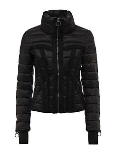 1f8b89349 Black Quilted Jacket - Jackets - Jackets & Coats - Clothing - Women ...