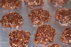 Weight watchers 1 point no bake cookies